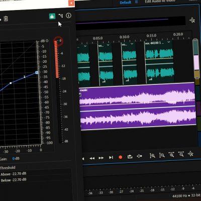 تنظیم آهنگ پس زمینه بصورت حرفه ای در ادوبی آدیشن | آموزش تنظیمات کامل