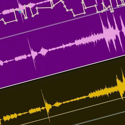 فیلتر کردن صدا و ساخت کی فریم در آدیشن