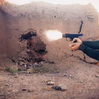 آموزش شبیه سازی شلیک گلوله با کلت در افترافکت