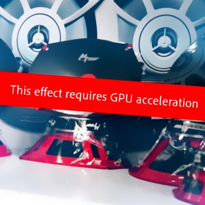 حل ارور This Effect Requires GPU Acceleration